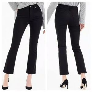 J. Crew Billie Demi Boot Crop Jeans Denim Ankle